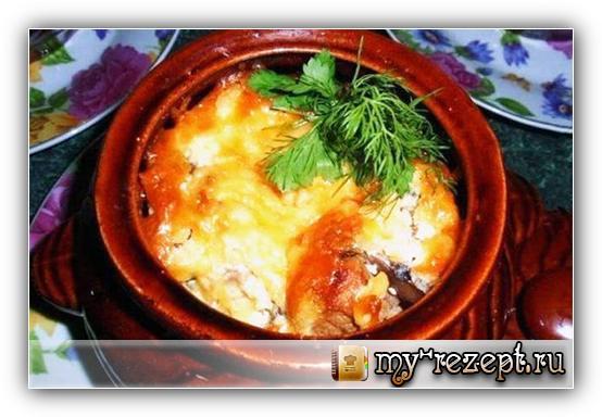 Рецепт азу из свинины с солеными огурцами