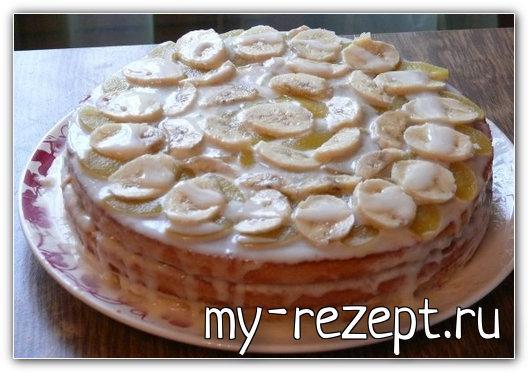 Крем для коржей из сметаны с карамельным десертом!