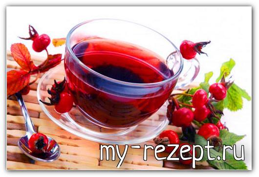 Как приготовить отвар шиповника из сухих плодов!