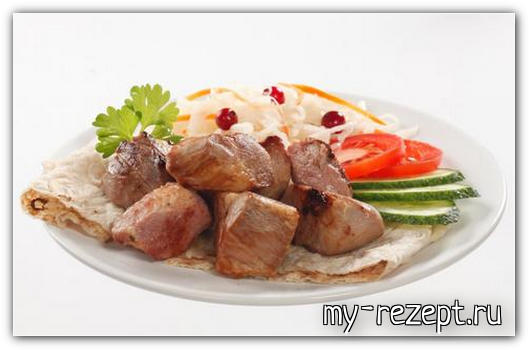 Армянский шашлык из свинины рецепт!