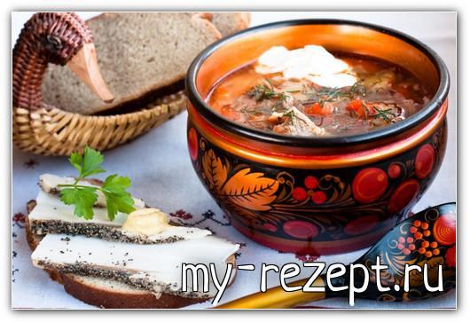 щи русские суп