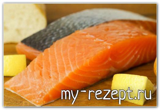 соление красной рыбы