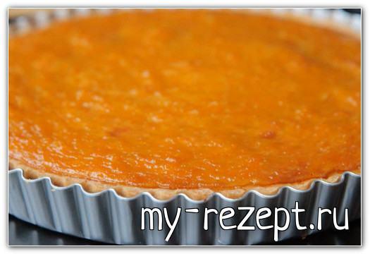 Тыквенный пирог американский рецепт с фото