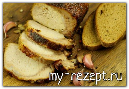 Мясо запечённое в мультиварке