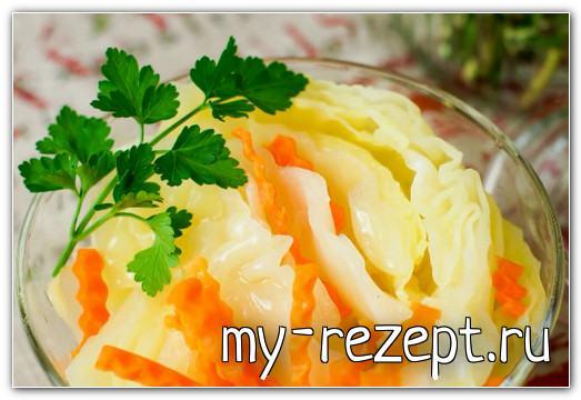 капуста маринованная хрустящая быстрого приготовления рецепт