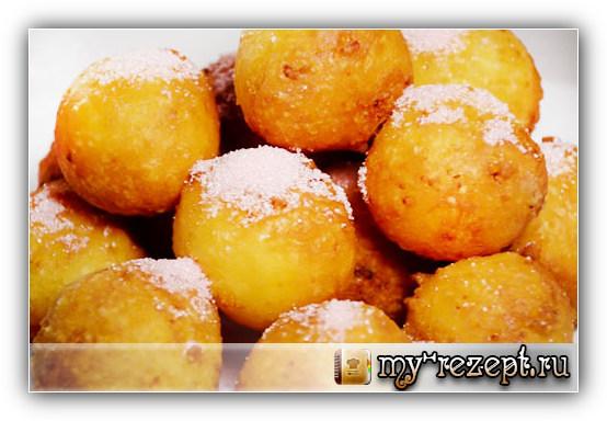 Творожные пончики рецепт с фото пошагово!