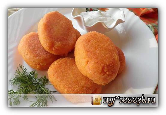 Морковные котлеты рецепт с фото пошагово!