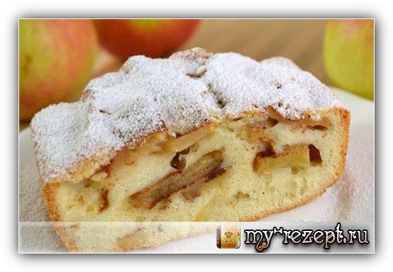 Шарлотка с яблоками рецепт с фото пошагово!