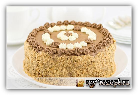 Торт москвичка рецепт пошагово в домашних