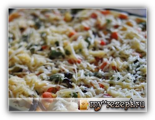 Пицца в духовке простой пошаговый рецепт