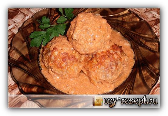 фрикадельки с подливкой рецепт с фото пошагово