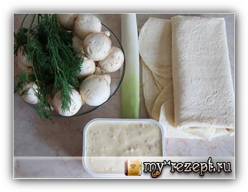 рецепты из лаваша пошагово с фото