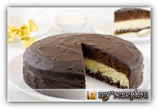 пошаговый рецепт торта баунти с фото